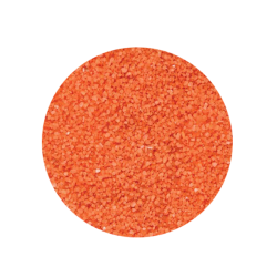 Sable pour aquarium, Brescia - Orange, Granulométrie 1 - 2 mm - 4 Kilos