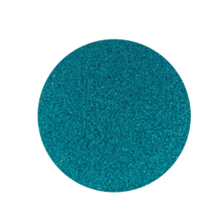 Sable pour aquarium, Sanremo, Bleu turquoise, Granulométrie 1 - 2 mm - 4 Kilos