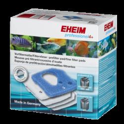 EHEIM Mousse de Pré-filtration + Ouate - Pour Filtre Professionel 4+