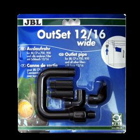 JBL OutSet 12/16 Wide, Kit de retour d'eau pour filtre externe