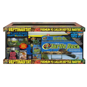 ZOOMED Kit complet tortue d'eau - 91x46x46 cm - 150 litres  TERMINER
