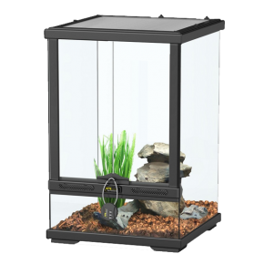 AQUATLANTIS Terrarium Smart Line 30 Version haute - 30x30x45 cm - Noir