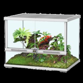 AQUATLANTIS Terrarium Smart Line 60 Version Haute - 60x45x60 cm - Blanc - Livraison gratuite