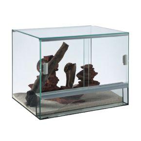 Terrarium en verre - 100x50x60 cm - Livraison incluse
