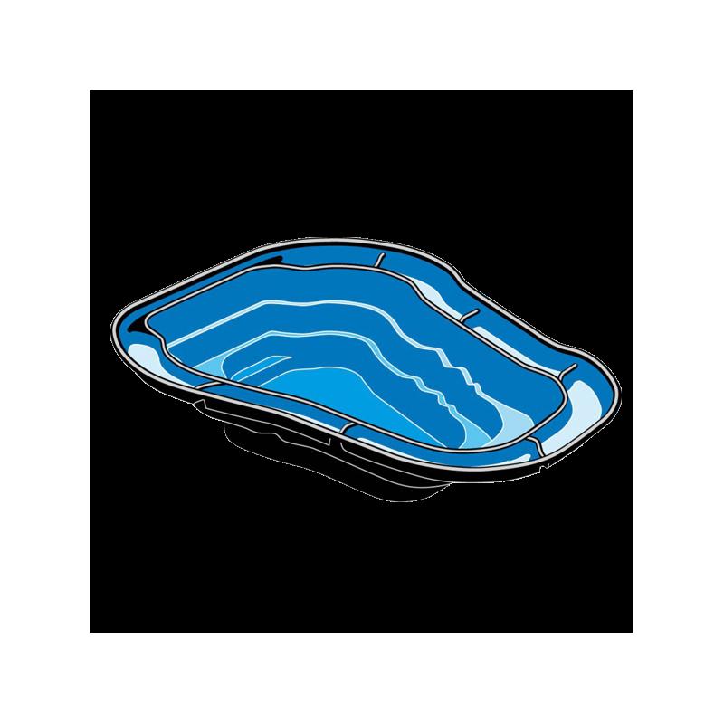 UBBINK Ocean I, Bassin Préformé - 1500 litres - Livraison gratuite