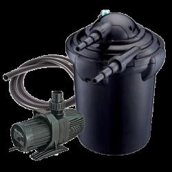 AQUA NOVA NPF-30 - Filtre + UV + Pompe pour Bassin jusqu'à 13000 L