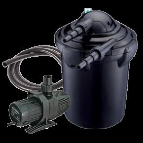 AQUA NOVA NPF-40 - Filtre + UV + Pompe pour Bassin jusqu'à 20000 L