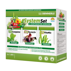 DENNERLE Système Set - Kit 3 engrais : V30+E15+S7 - 50 ml