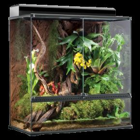 EXO TERRA Natural Terrarium Large/X-Tall - 90x45x90 cm - Livraison gratuite