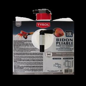 Bidon à eau pliable -  10 Litres