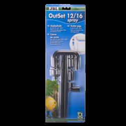 JBL OutSet Spray 12/16 - Kit de retour d'eau avec spray-bar pour CPe401/701/901