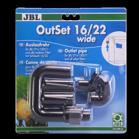 JBL OutSet 16/22 Wide, Kit de retour d'eau pour filtre externe