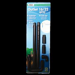 JBL OutSet Spray 16/22 - Kit de retour d'eau avec spray-bar pour CPe1500/1501