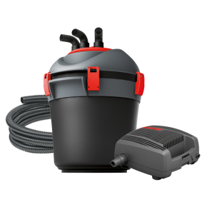 EHEIM Press 7000 - Filtre + UV + Pompe pour Bassin jusqu'à 20000 L