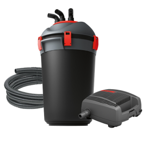 EHEIM Press 10000 - Filtre + UV + Pompe pour Bassin jusqu'à 10000 L