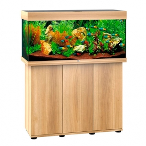 Aquarium Juwel Rio 180 LED + Meuble - Chêne Clair