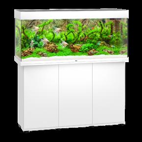 Aquarium Juwel Rio 240 LED + Meuble - Blanc