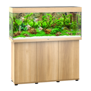 Aquarium Juwel Rio 240 LED + Meuble - Chêne clair