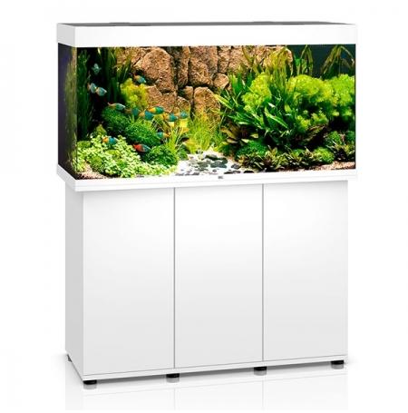 Aquarium Juwel Rio 350 LED + Meuble - Blanc