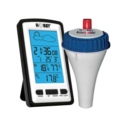 HOBBY Thermomètre Radiopiloté pour Bassin