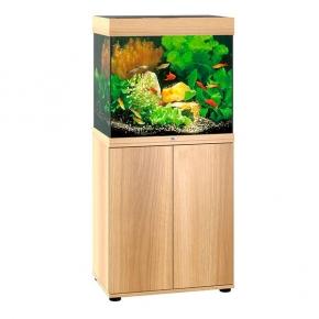 Aquarium Juwel Lido 120 LED + Meuble - Chêne Clair