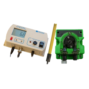 MILWAUKEE MC720 - Kit de contrôle PH - Contrôleur + pompe