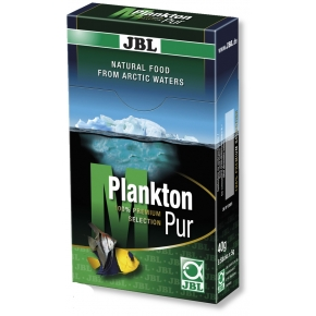 JBL PlanktonPur M, 8 sticks de 5 g de nourriture poissons eaux douce et eau de mer