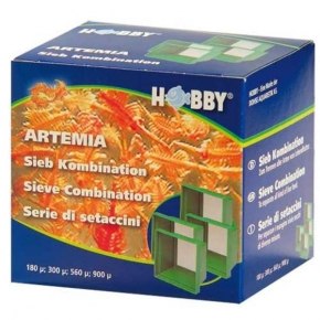 HOBBY Artemia - Jeu de tamis pour nourriture aquarium