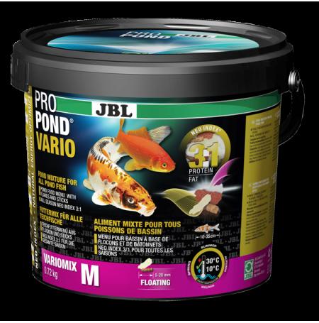 Jbl propond vario m 0 72 kg aliment tous poissons pour for Alimentation poisson rouge bassin