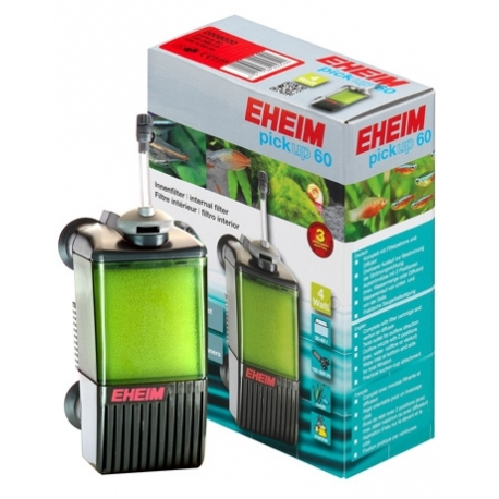 EHEIM Filtre PickUp 60 (Eheim 2008) Aquarium 60L Débit 300 l/h