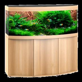 Aquarium Juwel Vision 450 LED + Meuble - Chêne clair