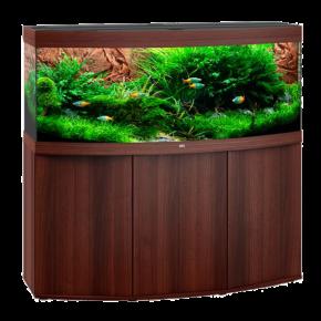 Aquarium Juwel Vision 450 LED + Meuble - Brun