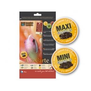 AQUARIUM SYSTEMS Omnivore Diet Mini Granulés A la carte 30 g