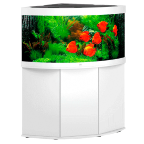 Aquarium Juwel Trigon 350 LED + Meuble - Blanc