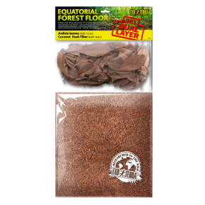 EXO TERRA Equatorial Forest Floor - Feuille + Substrat - 8,8 L