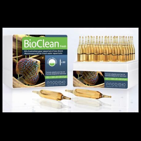 prodibio bioclean fresh 30 ampoules kit d 39 entretien pour aquarium d 39 eau douce. Black Bedroom Furniture Sets. Home Design Ideas