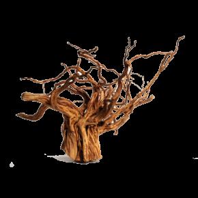 AQUA DECO Red Moor Wood - Racine de décoration pour aquarium