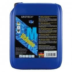 GROTECH VitAmino M (5L) Solution de vitamines et acides aminés pour aquarium eau de mer