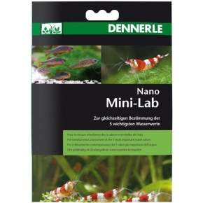 DENNERLE MiniLab Test des 5 valeurs essentielles de l'aquarium 5ml
