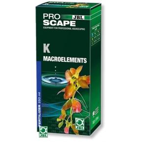 JBL ProScape K concentré macroéléments 250ml Fertilisant à base de potassium