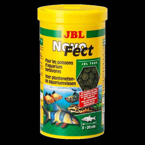 Jbl novofect 100 ml comprim s alimentaires pour poissons d for Jbl nourriture poisson