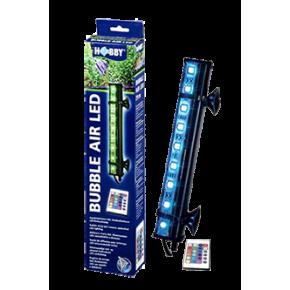 HOBBY Bubble Air LED 21 cm Diffuseur d'air pour aquarium- 9 LED