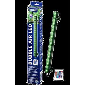 HOBBY Bubble Air LED 33 cm Diffuseur d'air pour aquarium- 18 LED