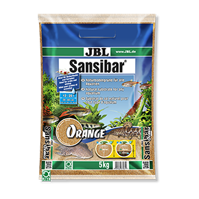 JBL Sansibar ORANGE Substrat fin orange pour aquarium