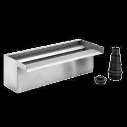 OASE WaterFall 30 - Chute d'eau lame en acier pour bassin