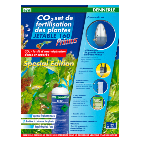 DENNERLE Primus 160 Edition Speciale - Kit CO2
