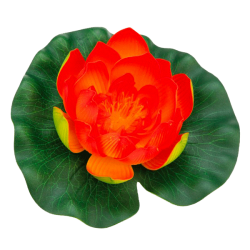 PONTEC PondoLily - Nénuphar en plastique - Orange