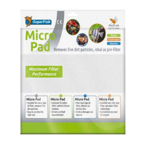 SUPERFISH Micro Pad - Ouate de Filtration - 45 x 25 cm