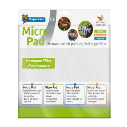SUPERFISH Micro Pad - Ouate de Filtration - 45 x 25 cm