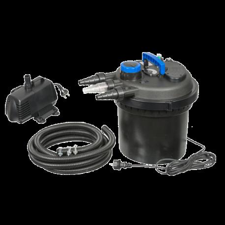 UBBINK BioPressure II 6000 PlusSet - Filtre + UV + Pompe pour Bassin jusqu'à 6000 L